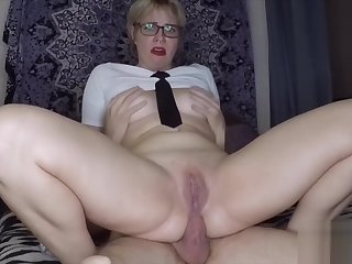 Lay Schoolgirl Gets Ass Fucked Hard Away from Her Teacher for an A