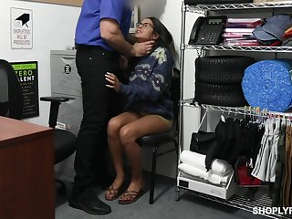Guilty bitch Vienna Black is bent turn over and punished with hard doggy