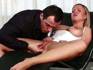 Eradicate affect long dong suits her drive before magic her pussy big time