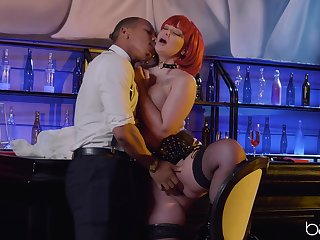 Ravenous redhead Gia Paige fucked objectively unending gravid