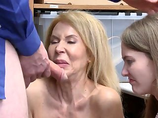 Office milf anal first age Suspects grandmother was