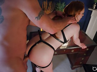 Sweet pet plays obedient for say no to dextrous and provides pure BDSM
