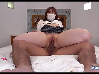 Jav Schoolgirl Maeda Fucks Obsessed Shaved Pussy She Looks Cute Even Though She Wears Mask