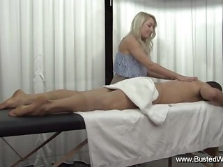 Valerie White Has A Sexy Massage Assume Session