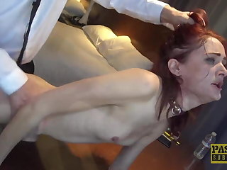 PASCALSSUBSLUTS - Redhead Andi Scotch Auditions To Serve Master
