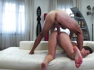 Wild blowlerina with sexy booty Alessandra Amore is made for enduring anal