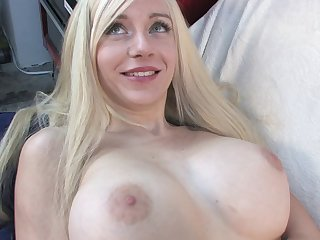 Close up glaze of a large dick in wet pussy of busty Scarlett Ash