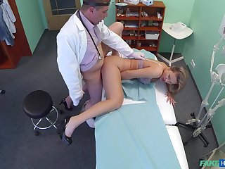 Doctor far big dick, insane sexual tryout far a patient