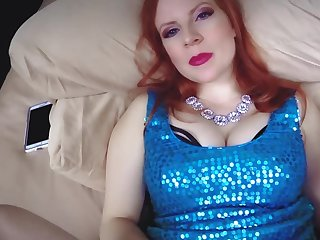 Redhead cougar sprog is being creampied wits her stepson
