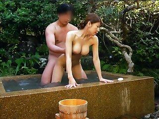 Japanese Onsen Inn Maid Fuck Facilitate